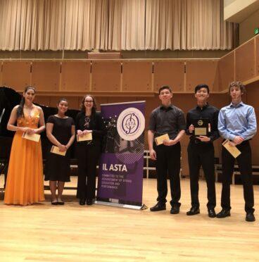IL ASTA Concerto Competition Winners